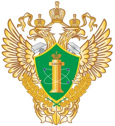 Эмблема Ростехнадзора