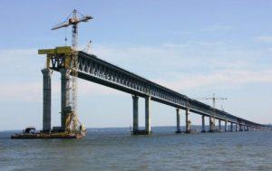 Постройка Крымского моста