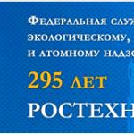 295 лет Ростехнадзору