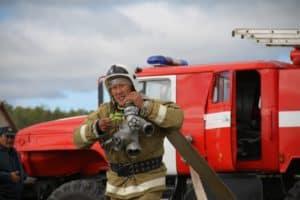 Якутский пожарный